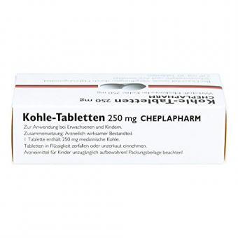 Kohle-Tabletten 250mg 30 stk