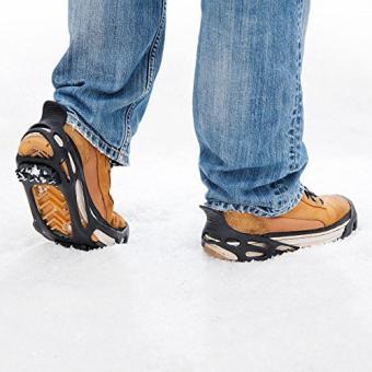 Semptec Urban Survival Technology Schuhspikes: Schuh-Spikes für Schuhgröße Gr. 40-43 (Eiskrallen)