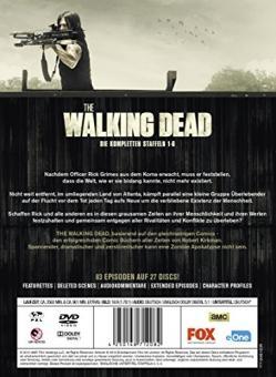 The Walking Dead - Die kompletten Staffeln 1-6 (27 Discs, Uncut)