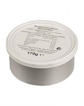 3x BW Dosenbrot 170gr (Roggenmischbrot,geschnitten)