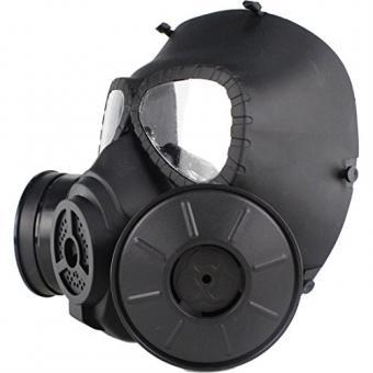 15000P Elektrische Beatmungsgasmaske Atemschutz Gasmaske mit Doppelt Filter